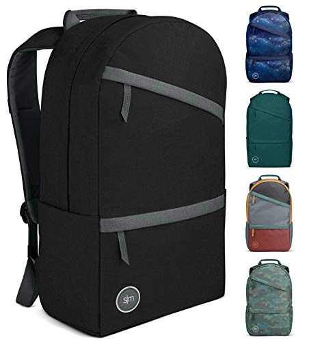 Simple Modern Legacy Backpack with Laptop Compartment Sleeve - 25L Travel Bag for Men & Women College Work School - Shadow (Accent)