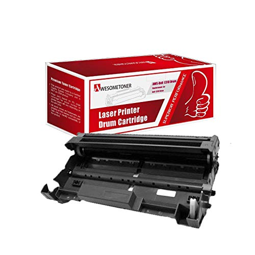 Awesometoner Compatible Drum Cartridge Replacement for Dell E310 ?593-BBKE? use with Laser Printer E310dw E514dw E515dn E515dw (Black, 1-pack)