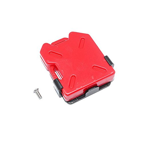 Rucan 2pcs 1:10 RC Crawler Accessories Fuel Tank Oil DrumContainer For Axial SCX10 (A)
