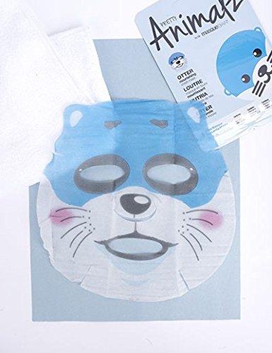 Amazon.com : masque Bar Pretty Animalz Sheet Mask, PENGUIN Purifying Full Face Mask, Single Pack : Beauty