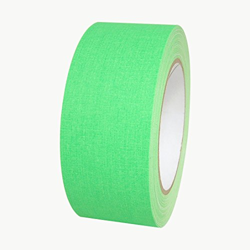 510 Vinyl - Polyken 510-NEON/FLGRN225 510 Vinyl Coated Cloth Premium Grade Gaffers Tape, 11.5 mils Thick, 75' Length x 2