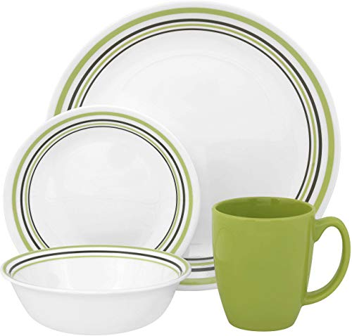 Corelle Livingware 16-Piece Dinner Set, Service for 4