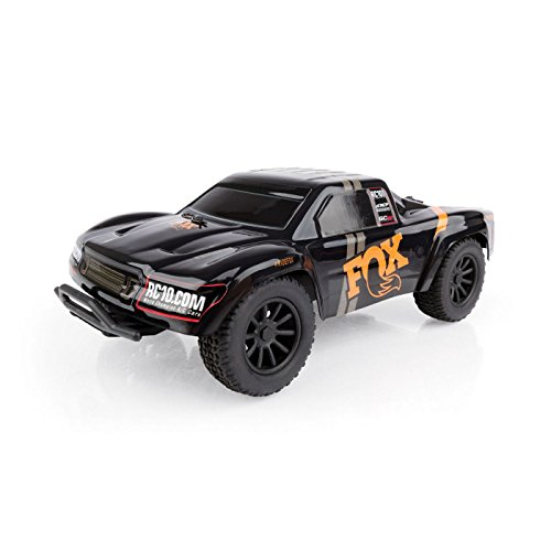 Team Associated 1/28 SC28 2WD SCT Brushed RTR, Fox Edition: Black from Team Associated