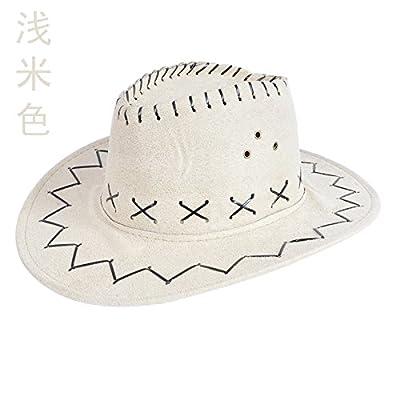 À l'été de l'avant-toit Cap Shaded Sun Hat Chapeaux mode Plein Air Marée Sport et loisirs Série L (58-60cm), Beige Clair