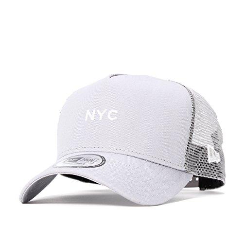 (ニューエラ) NEW ERA メッシュキャップ 9FORTY MINI LOGO NYC グレー FREE (サイズ調整可能)