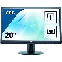 AOC M2060PWDA2 19.5 INCH LED Monitor 1920 x 1080 Tilt HA Swivel Pivot Speakers VGA & DVI