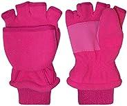 N'Ice Caps Kids Thinsulate Lined Winter Converter Fingerless Glove To Mi