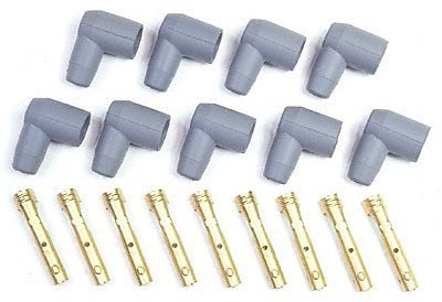 MSD 8851 Spark Plug Wire Boot Kit, (Set of 9)
