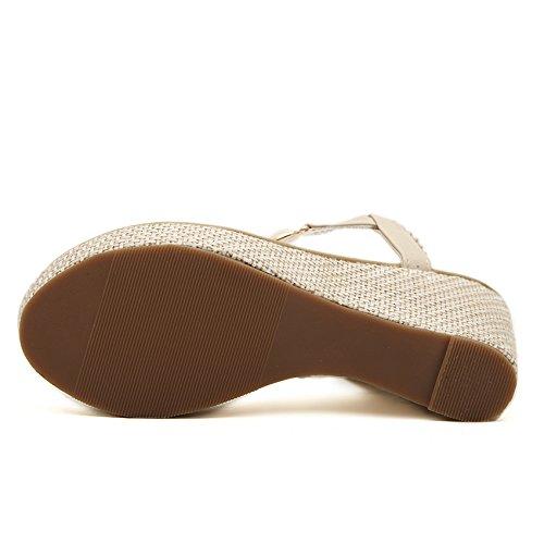 pour Sandales Femme Abricot ZAMME CNPSHOE168 5aFgxvE