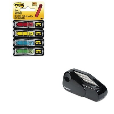 KITMMM684SHPRE1624 - Value Kit - Martin Yale Model 1624 Handheld Battery Operated Letter Opener (PRE1624) and Post-it Arrow Message 1/2amp;quot; Flags (Battery Operated Envelope Opener)