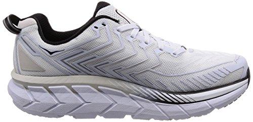 4 One White Running Black Men's One Hoka Clifton Shoe aSqIId