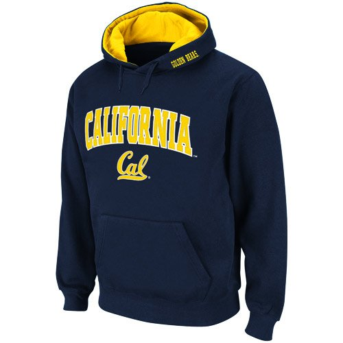 UPC 886069804526, Cal Bears Navy Blue Classic Twill II Pullover Hoodie Sweatshirt (Large)