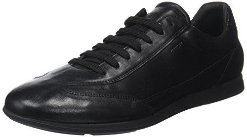 Sneakers Noir Geox black Clemet Basses A U Homme qxOZt1x