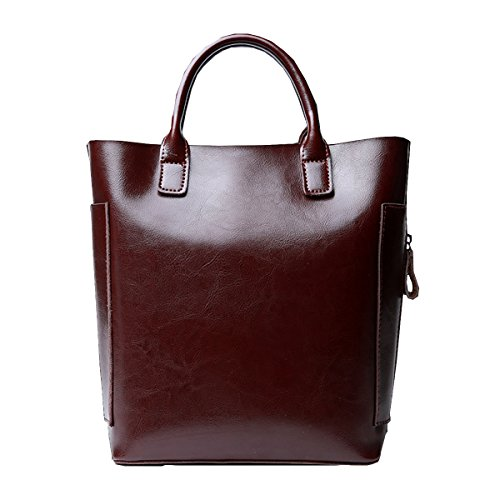 Valin, sac à main café moyen pour femmes