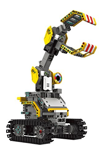 UBTECH JIMU Robot Builderbots Kit - App Enabled Stem Learning Robotic Building Block Kit - 2018 Servo