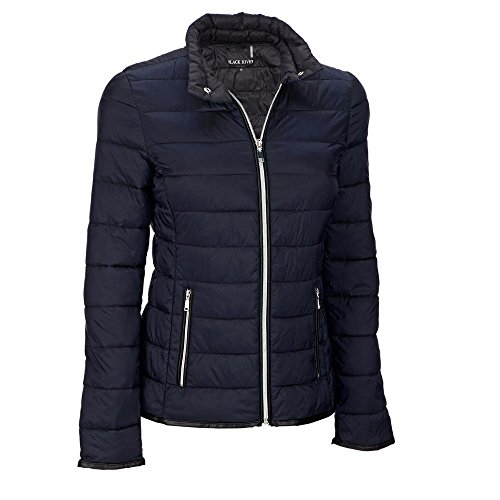 Zip Front Puffy Jacket - 1