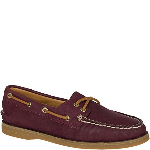 Sperry Men's Gold Cup Maroon Leather Welt Boat Shoe - 9 B(M) US by Sperry Top-Sider