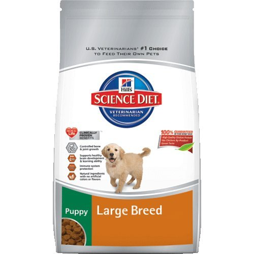 Hill's Science Diet Puppy Large Breed Dry Dog Food, 4.5-Pound Bag