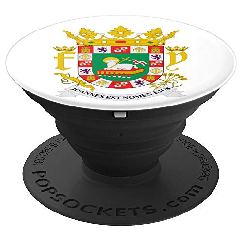 Escudo de Puerto Rico - PopSockets Grip and Stand for Phones and Tablets