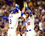"Chris Taylor & Justin Turner Los Angeles Dodgers 2017 MLB World Series Action Photo (Size: 16"" x 20"")"