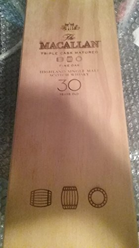 Very Rare Macallan 30 Scotch Whisky Whiskey box only - great condition -