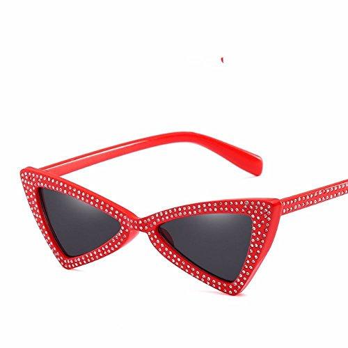 de de 1 66301 Gafas de sol Sol Liuxc Personalidad Sol de triángulo Gafas de Gafas perforador 66301 a36 1 Lazo de a36 UxTqqS7