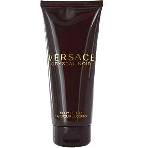 Amazon.com : Versace Crystal Noir Body Lotion For Women, 6