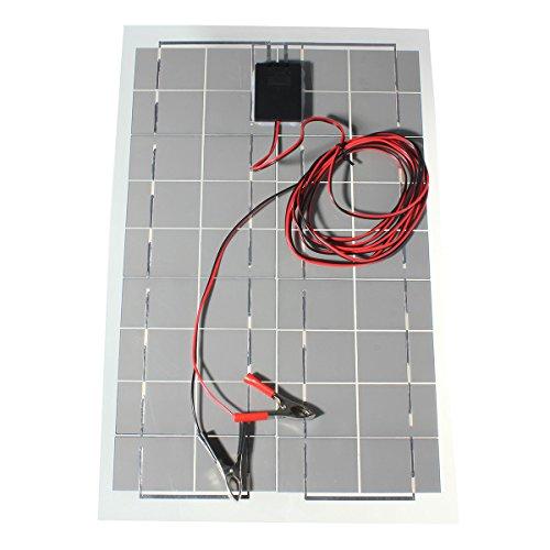 30w 12v Solar Charger Kit Sunpower Cell Ultra Thin
