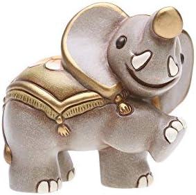 THUN – Statuina Presepe Elefante – Decorazioni Natale Casa – Linea Presepe Classico – Ceramica – 7 h cm
