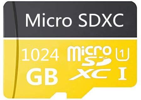 Micro SD Card 1024GB High Speed Class 10 Micro SD SDXC Card with Adapter (1024GB-B)