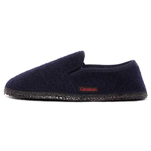 Grigio Giesswein Adulto Pantofole Niederthal gris azul Blu Unisex ATIwTqRS 382fce36186