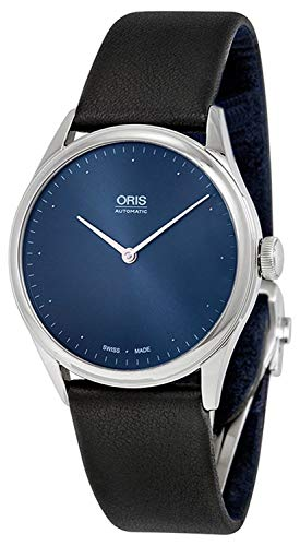 - Oris Thelonious Monk Limited Edition Blue Dial Black Leather Mens Watch 732-7712-4085SET