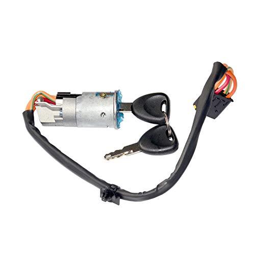 Ignition Switch Lock Barrel & Keys 101447: