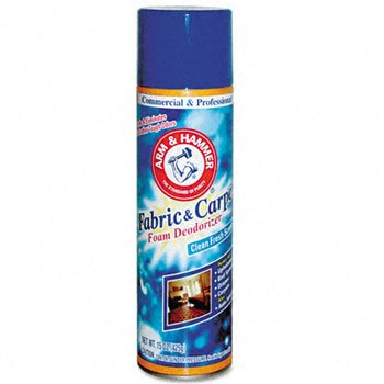 Arm & Hammer® Fabric & Carpet Foam Deodorizer CLEANER,CARPT FOAM DODRZR (Pack of 15) by LAGASS