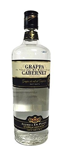 Grappa Andrea da Ponte di Cabernet da Vinacce di Monovitigno