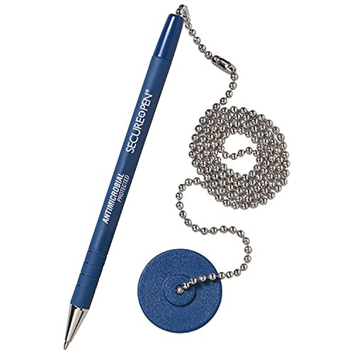 (MMF28908 - MMF Secure-A-Pen Ballpoint Counter Pen with Base)