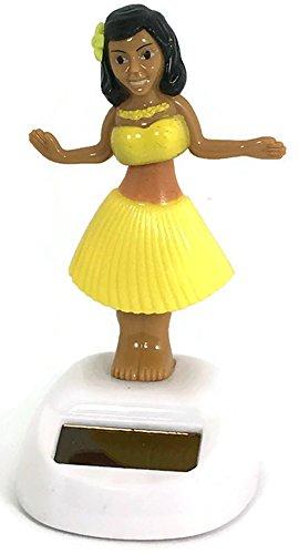 Solar Power Dancing Girl Yellow - Girl Sunglasses Dancing