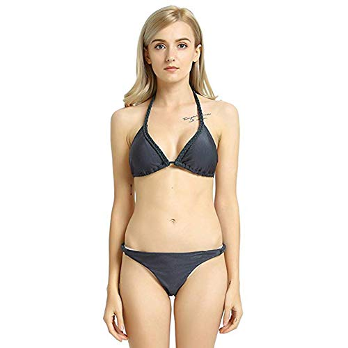 Black Triangle Bikini Set in Australia - 8