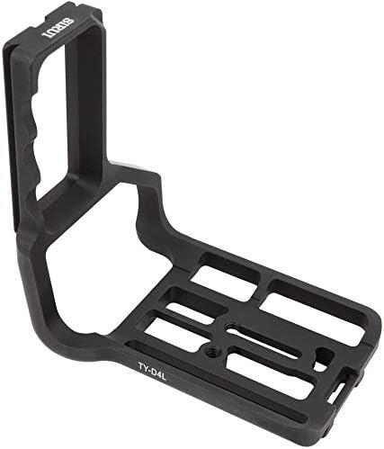 Quick Release Vertical Grip with 1//4 screw hole suitable for Nikon D4 D4S D5 Arca Camera Mugast QR L-Shaped Camera Bracket