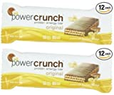 Power Crunch Protein Energy, Peanut Butter Fudge Butter Fudge, 1.4-Ounce Bar (2 set of 12 Pack)