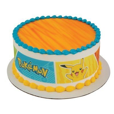 Pokemon - Party Edible Icing Image Cake Border Strips by Whimsical Practicality ()