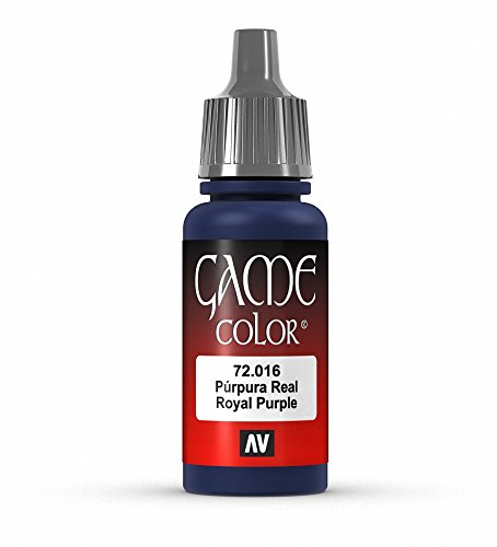 Vallejo Game Color Royal Purple Paint, 17ml