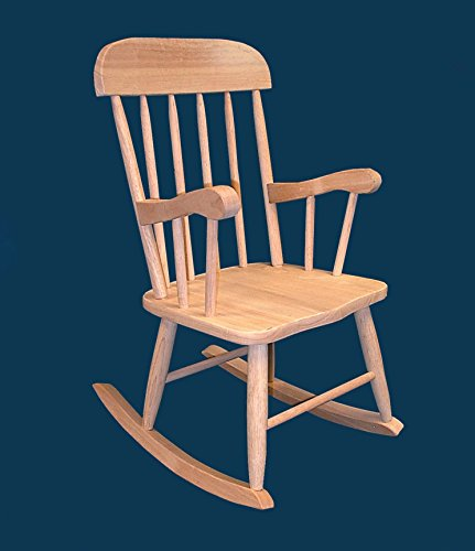 Kids Boston - Unfinished Child Rocking Chair