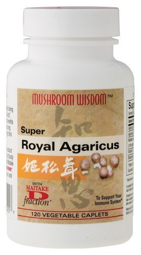 Mushroom Wisdom Super Royal Agaricus - 120 Cap