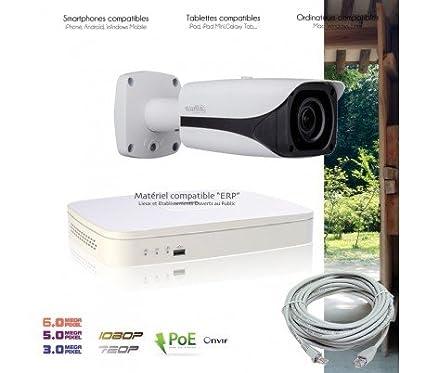 Cámaras Vigilancia IP – Sistema de Video Vigilancia IP con 1 Cámara exterior – kit-