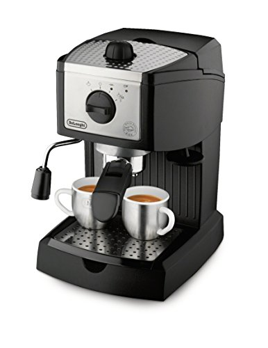 - De'Longhi EC155 15 BAR Pump Espresso and Cappuccino Maker