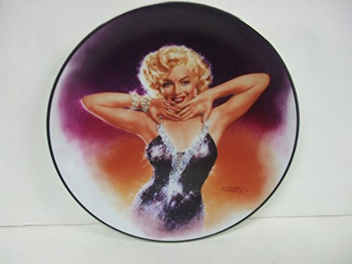Bradford Exchange Marilyn Monroe Collectors Plate - Shining Star - Plate #7 in The Magic of Marilyn Collection