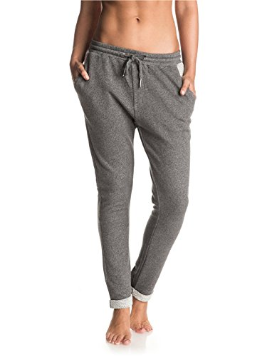 Roxy-Charcoal-Heather-Signature-Womens-Joggers