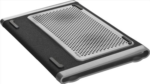 (Targus Dual Fan Chill Mat for Laptop up to 15.6 Inches, Gray/Black (AWE79US) )