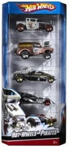 Hot Wheels 5 Car Gift Pack Pirates by: Amazon.es: Juguetes y juegos